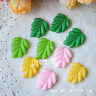 diy simulation cream mobile phone case beauty material retro resin leaves leaves bambi jewelry accessories