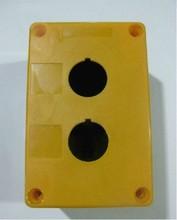 按钮开关盒2孔 开孔 22MM 按钮盒BX2-22 XAL-B02黄色 白色