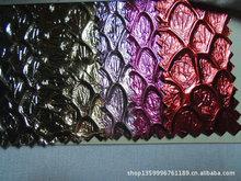 凹面蟒蛇皮革 凹形大蛇皮金屬色 亮光鞋箱包合成革 蛇紋壓花2108A