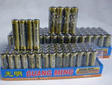 厂家直供正品 光明7号电池 光明R6C电池 光明AAA电池耀达电子