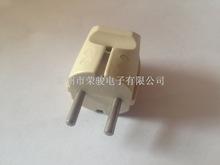 厂家直销 电源插头 中东美式欧规工业头欧标4.0 4.8mmABS铜铁