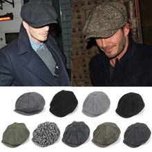 冬季保暖八角帽报童帽贝雷帽子女士韩版潮鸭舌帽户外男士冬天帽子