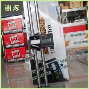 现货销售陕西宏峰国产划线数显高度尺 双柱数显高度尺0-300 600