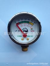 LPG液化石油气减压阀燃气阀用微型煤气压力表指示器印尼市场