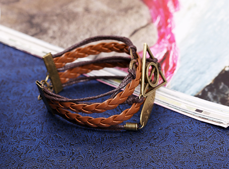 Occident and the United States alloy plating Bracelet NHNPK0828