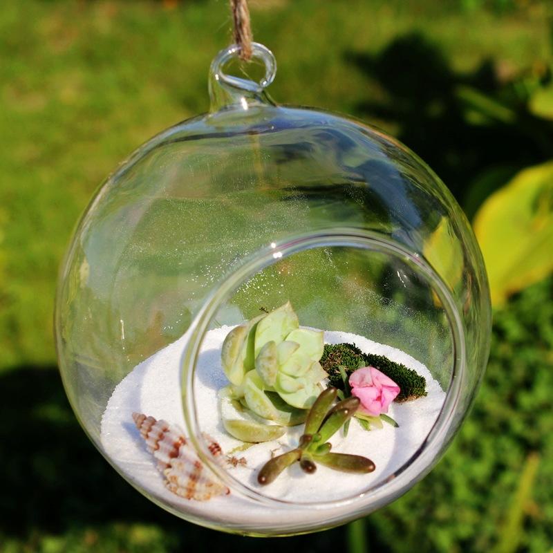 微景观生态瓶 悬挂玻璃花瓶 多肉植物花瓶 婚庆工艺品