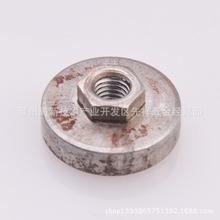 厂家优供六角法兰圆25*6 六角10*3材料35钢螺纹m6本色或根据需要