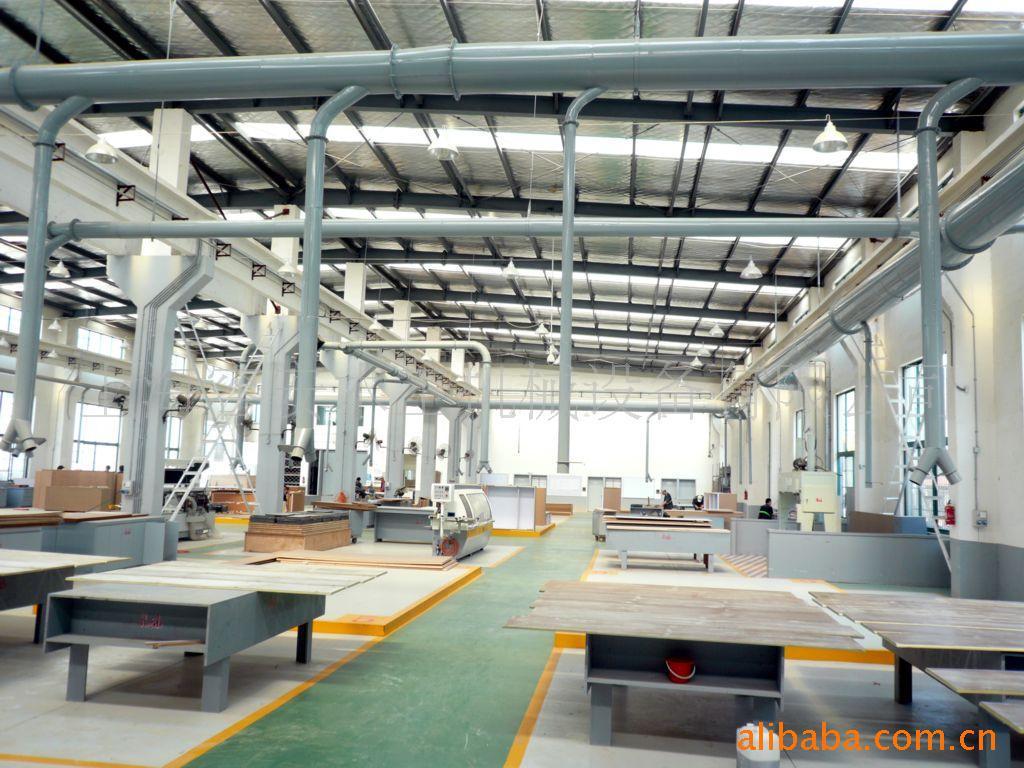 木工机械室内中央吸尘、环保中央除尘设备、工业除尘设备