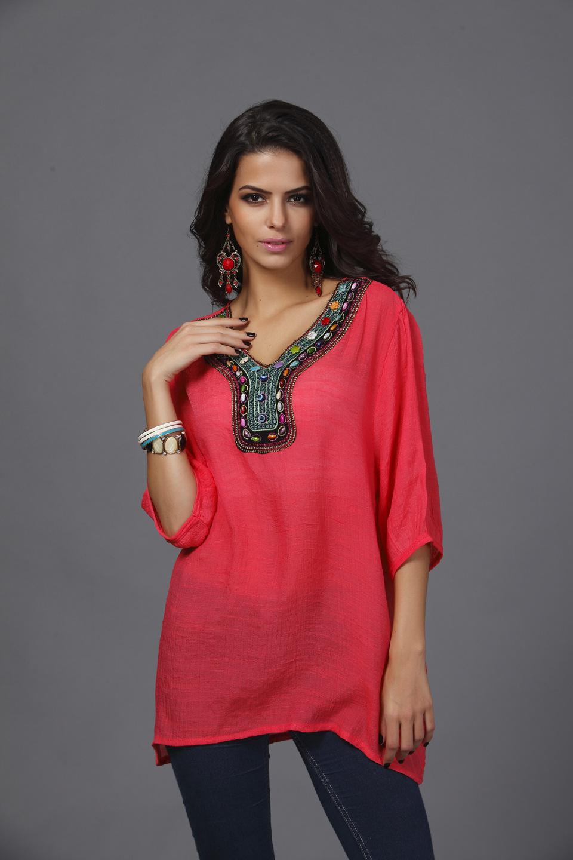 Alloy FashionLarge Women(Watermelon Red - L) NHDF0216-Watermelon Red - L