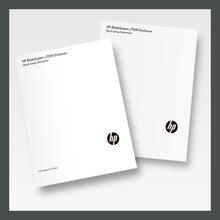 定做电脑配件A5产品说明书中英文用户使用安装指导黑白小册子004