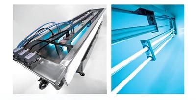 明渠式紫外线杀菌器|深圳林瀚厂家直供污水明渠式紫外线消毒设备
