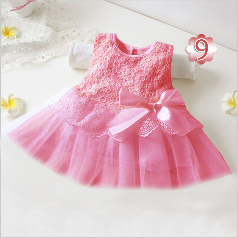 5951c55e3ea8 2019 Summer Mesh Dresses Cute Girl Dresses Sleeveless Bow Dress For ...