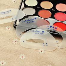 美妆6片装懒人眼影卡 辅助画眼妆美妆工具 描眼影卡套装批发6563