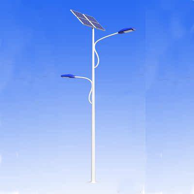 <5米太阳能路灯批发>厂家专业生产5米高低臂太阳能路灯