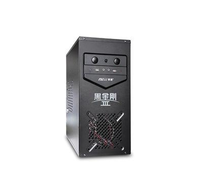 厂家批发 网吧机箱黑金刚3台式迷你小机箱 防火防盗网吧专用