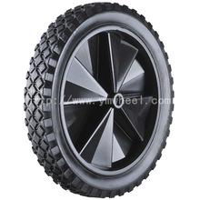 12寸橡塑實心橡膠購物車手推車輪子 獨輪車輪胎