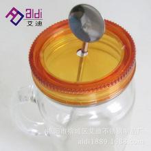 吸管不锈钢搅拌勺咖啡汽水奶茶穿刺勺可免费拿样淘宝热销艾迪制品