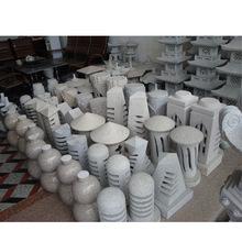 廠家供應 各種石雕工藝品擺件 高檔園林鏤空石雕燈籠