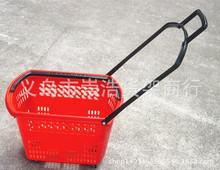 廠家直銷  新款 超市便利店專用購物籃 /手推車塑料籃