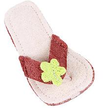可愛拖鞋形絲瓜絡寵物 狗狗磨牙用品天然潔齒狗玩具寵物用品