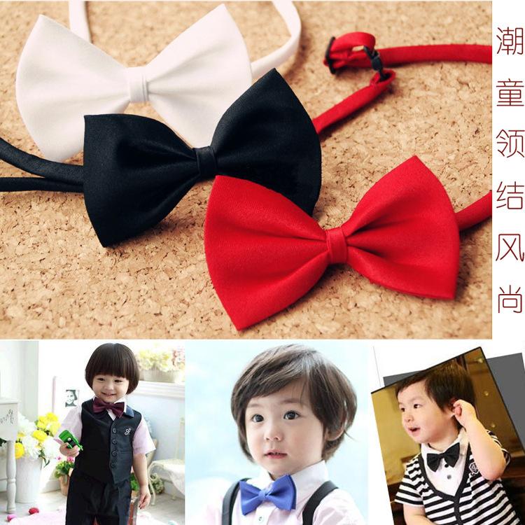 韩版学生儿童领结宝宝小领结演出领结 男童女童幼儿领花领带