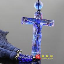 特價!漢風琉璃廠可混批CG053-3基督十字架等300多款古法琉璃車掛
