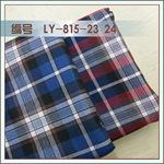 [色織格子現貨批發襯衣面料|滌棉混紡色織襯衫格子布LY815