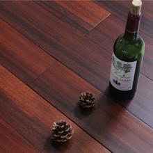 实木地板 圆盘豆 地板 厂家批发 18mm 绿色?#20197;?#26586;木色 A级优等板