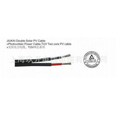供太阳能电缆 PV1-F 光伏电缆单芯线 抗紫外线电缆 光伏线 UL认证