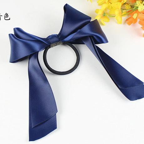 Hàn Quốc nhập khẩu trang sức phụ kiện tóc đôi nơ tóc vòng tóc dây ruy băng Phiên bản Hàn Quốc của mũ nón Taobao thứ hai giết