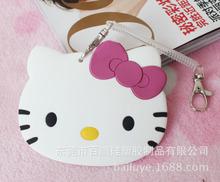 2015新款上市 kt猫硅胶卡套定做 创意可爱硅胶卡套 PVC行李牌定制