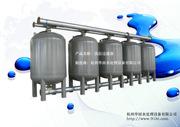 全自动浅层过滤器 浅层多介质过滤器 冷却循环水全滤和旁滤