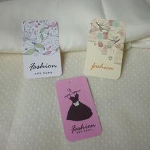 现货吊牌 欧版用吊牌 高雅花纹吊卡挂牌 服装女装标签 也可定做