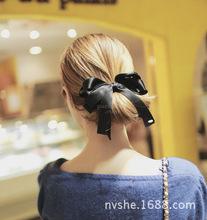 韩国原单进口多层蝴蝶结韩国进口织带发夹头饰饰品韩版批发A212