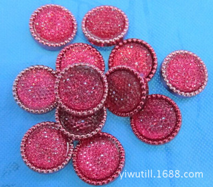 Two-piece plastic plus resin buttons Gypsophila women's buttons