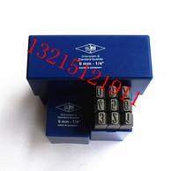 德国G唛牌蓝盒字凿 英文反体钢字印 GG钢字冲 钢字模10mm