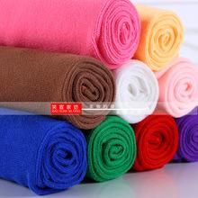 超细纤维毛巾面巾礼品劳保快干巾定制logo一件代f赠品汽车巾