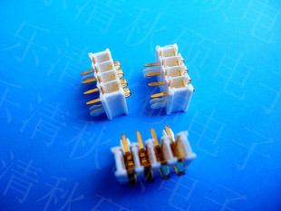 Qiusuo supplies new 4P 90 degree white battery holder, battery connector X-BOX