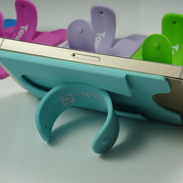 韩国创意Touch-u升级版 Touch-C 多功能手机支架 硅胶支架