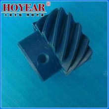 专业销售 上海自动化同步带轮 品质高质量45度蓝色尼龙斜齿轮