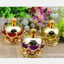 汽車香水 車載香水座 創意汽車精品用品水晶鑲鑽高檔皇冠擺件女性