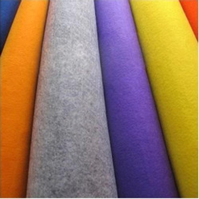 厂家生产 最新款进口原料DIY毛毡布 手工制作彩色摄影背景布 热卖