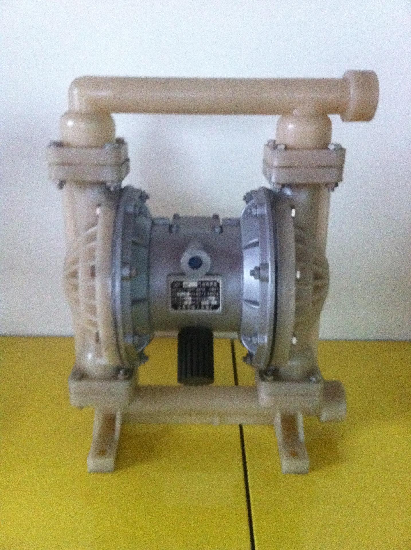 供应隔膜泵 QBY-40 PVDF气动隔膜泵 耐腐蚀气动隔膜泵