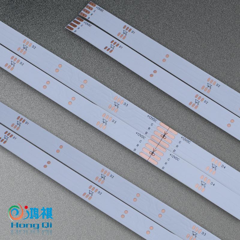 深圳PCB板厂家 优质LED灯条 软灯条板 FPC柔性线路板 电子电路板