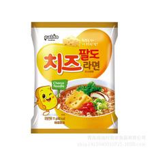 韩国进口泡面PALDO八道起司拉面444g芝士拉面奶酪方便面干拌面批