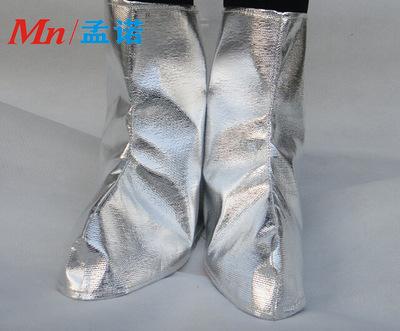 耐高温鞋套 1000度隔热脚套 铝箔防火鞋套 耐高温脚盖