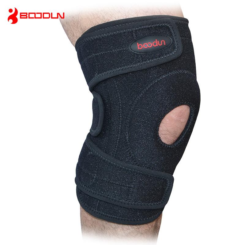 BOODUN/博顿弹簧运动护膝 篮球羽毛球跑步体育用品直销现货批发
