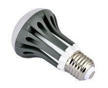 新款LED球泡灯 R泡 E27 R63 5W 蘑菇泡 厂家直销 ?#26102;?年