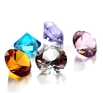 水晶钻石定制 水晶钻摆件 手机柜台创意礼品摆件 婚房装饰品工艺