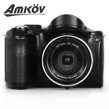 Amkov新款廠家直銷 1600萬 3.0大屏長焦機攝像機數碼機DV